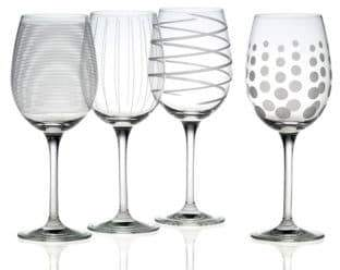Mikasa Cheers White Wine Glass Set Of 4