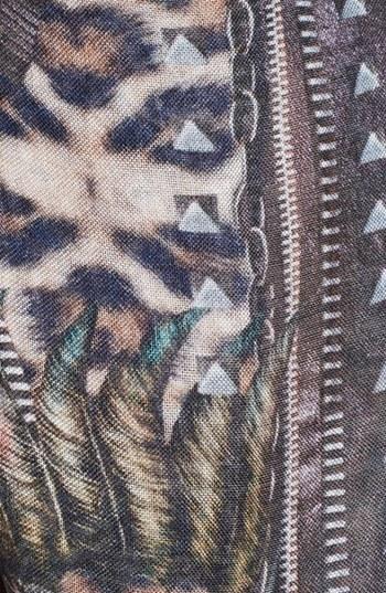 The Kooples Leopard Print Scarf