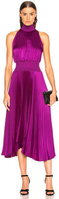 A.L.C. Vintage Satin Renzo Dress in Orchid | FWRD