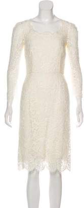 Dolce & Gabbana Lace Midi Dress w/ Tags