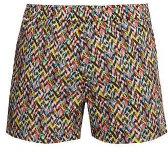 Missoni Mare - Printed Cotton Swim Shorts - Mens - Multi