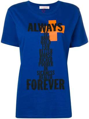A.F.Vandevorst print T-shirt