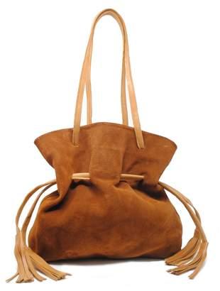9c9beee2116b Cognac Drawstring Bag - ShopStyle