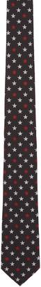 Givenchy Black Star Tie $295 thestylecure.com