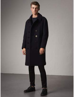 Burberry Wool Blend Double-breasted Coat