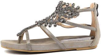 Django & Juliette 315 Pewter Sandals Womens Shoes Casual Sandals-flat Sandals