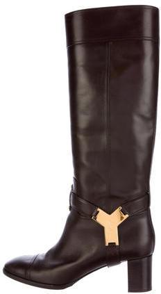 Saint LaurentYves Saint Laurent Harness Knee-High Boots