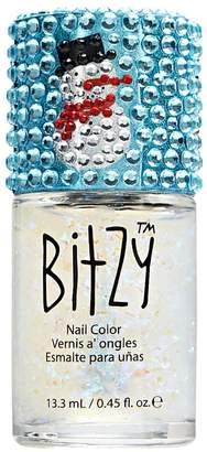 Bitzy Bling Cap Snowman Holiday Bling Polish