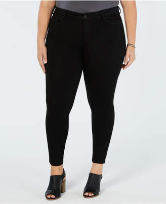 Celebrity Pink Trendy Plus Size Infinite Stretch Skinny Ankle Jeans