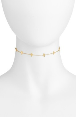 Women's Argento Vivo Bar Station Chain Choker $48 thestylecure.com