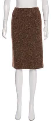 Ralph Lauren Purple Label Knee-Length Pencil Skirt
