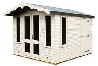 Crane 3 x 2.5m Storage Chalet, Door on Right, FSC-certified (Scandinavian Redwood)