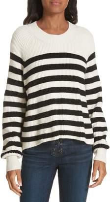 Veronica Beard Boyd Stripe Sweater