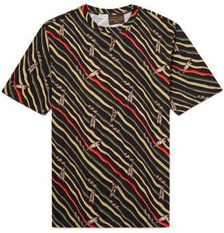 Loewe + Paula`s Ibiza Printed Cotton-Jersey T-Shirt
