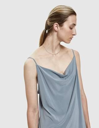 Amomento Loose Neck Slip Dress in Sky Blue