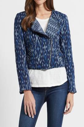 Joie Navy Ikat Jacket