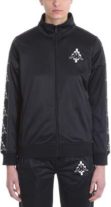 Marcelo Burlon County of Milan X Kappa Black Sweatshirt