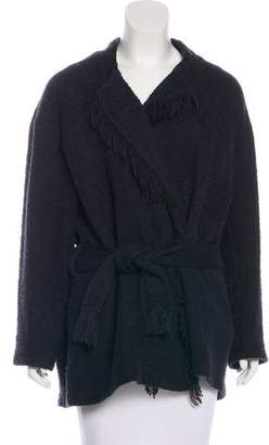 IRO Belted Knit Coat