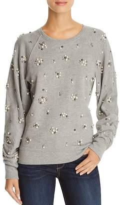 Joie Jesiah Embellished Sweatshirt