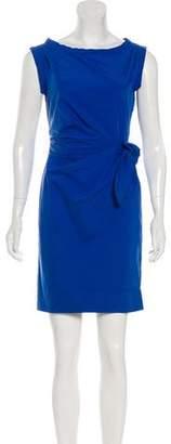 Diane von Furstenberg Pleated Sheath Dress