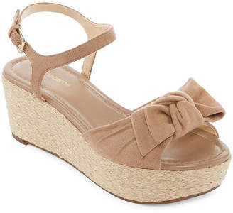 Liz Claiborne Womens Brooklyn Wedge Sandals