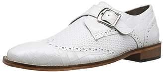 Stacy Adams Men's Giannino-Monk Strap Wingtip Slip-on Loafer