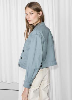 Cropped Utilitarian Jacket
