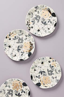 Ralph Lauren Wan Floral Vine Side Plates, Set of 4