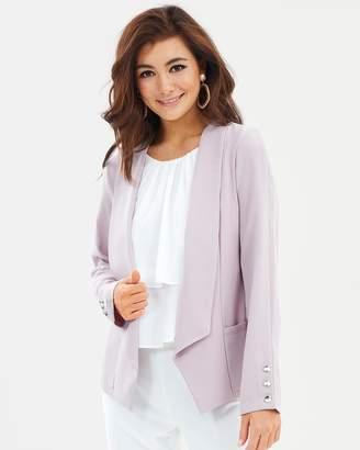 Wallis Daisy Button Sleeve Jacket