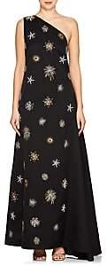 Osman Women's Orion Starburst-Embellished Crepe Gown