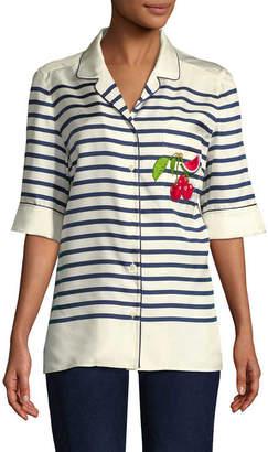 Dolce & Gabbana Stripe Blouse