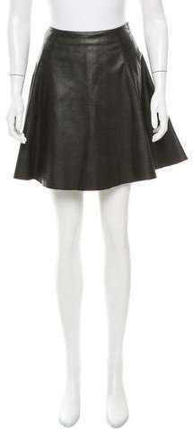 Kate SpadeKate Spade New York Leather Mini Skirt