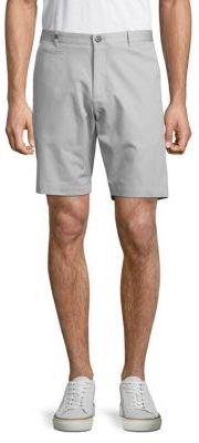 Bedford Solid Slim-Fit Cotton Shorts $65 thestylecure.com