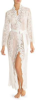 Jonquil Women's Lace Duster Robe