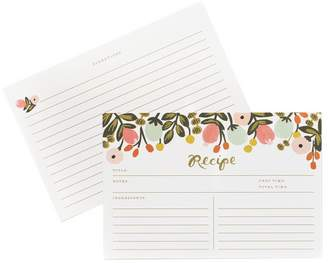 Rifle Paper Co. Hanging Garden Recipe Cards - Pack of 12
