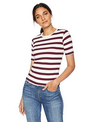 Velvet by Graham & Spencer Women's Kay Stripe Knit Shirt