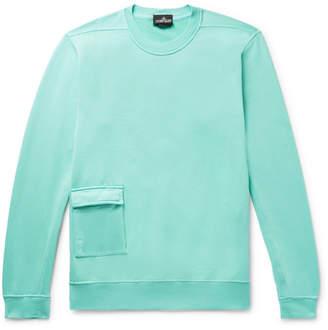 Stone Island Shadow Project Loopback Cotton-Jersey Sweatshirt