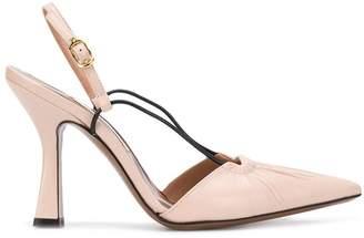 L'Autre Chose heeled pointed pumps