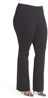 NYDJ Belinda Pull-On Stretch Knit Bootcut Pants (Plus Size)