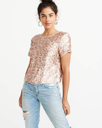 Abercrombie & Fitch Sequin Tee