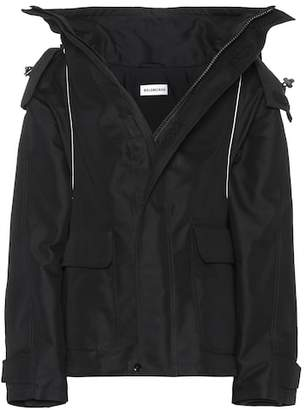 Balenciaga Coated cotton jacket
