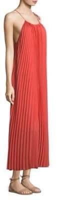 Escada Pleated Maxi Dress