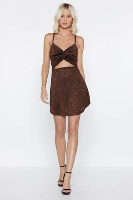 Nasty Gal Groove is in the Heart Glitter Dress