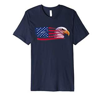 Patriot Eagle Shirt USA Flag Eagle Hawk American T Shirt