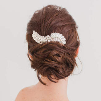Britten Weddings Wedding Hair Comb With Crystals And Pearls