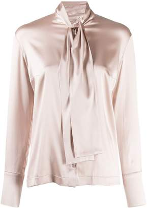 D-Exterior D.Exterior pussy bow blouse