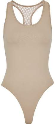 Koral Melody Mesh-Paneled Stretch Bodysuit