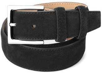 Aspinal of London Men's Chelsea Suede Belt