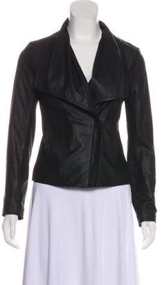 BB Dakota Long Sleeve Leather Jacket
