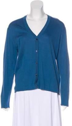 TSE V-Neck Button-Up Cardigan